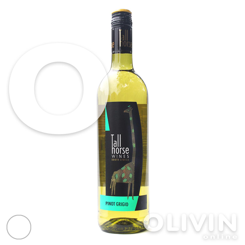 Brand New: Tall Horse Pinot Grigio